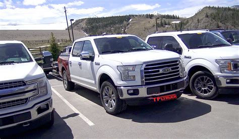 Check Out 2018 Ford F-150 Diesel Prototypes Tow Testing In