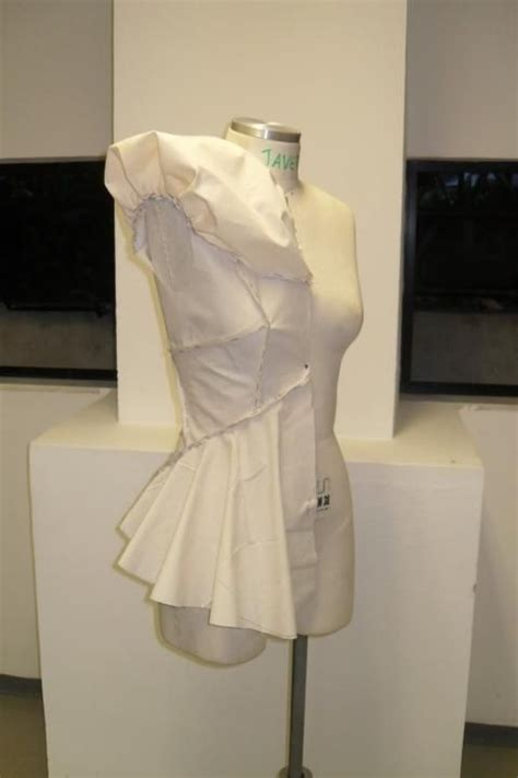fabric draping software fashion design draping on the stand garment