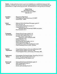 25 best ideas about high school resume on pinterest With college application resume format