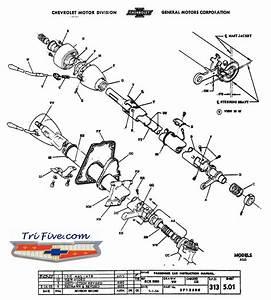 Chevy Steering Parts Diagram
