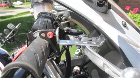 Motorcycle Cruise Control, Sort Of