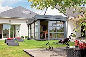 veranda quel materiaux choisir travauxcom With toit en verre maison 1 choisir un toit terrasse ou un toit plat pour son extension