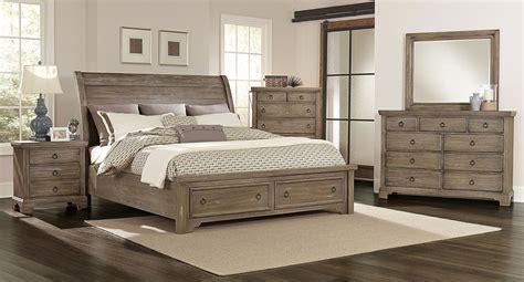 Whiskey Barrel Storage Bedroom Set (rustic Gray) Vaughan