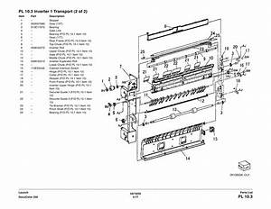 Xerox Docucolor 250 240 Parts List And Service Manual