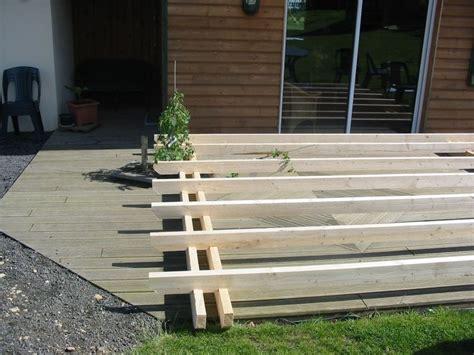 plan d une pergola en bois appenti bois