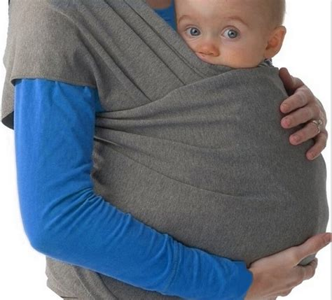 Infant Newborn Kid Baby Carrier Sling Swaddle Wrap Cotton