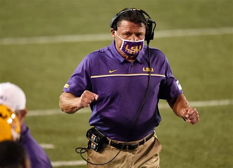 LSU Coach Ed Orgeron Says 2021 Recruiting Going Strong ...