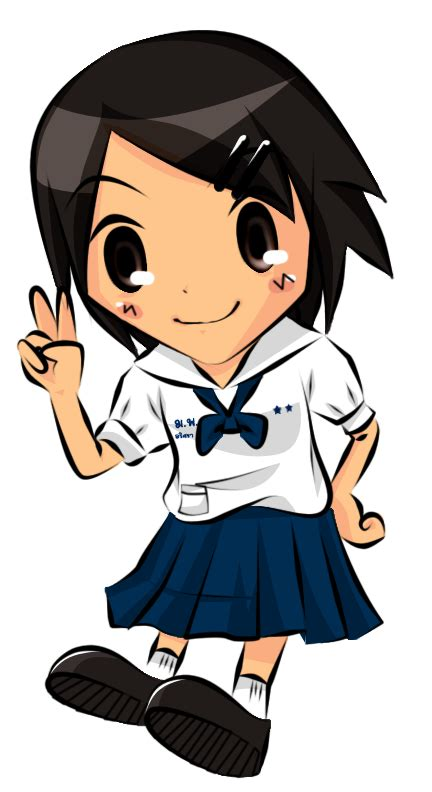 11829 student clipart png thai s student by zilchat on deviantart