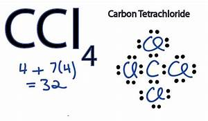 Electron Dot Structure Of Ccl4 Science Carbon And Its