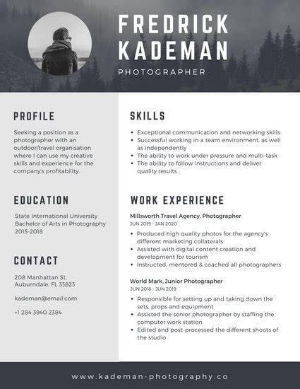 Resume Header Creator by Techie Web Developer Resume Templates By Canva