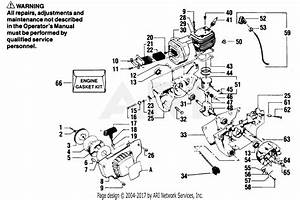 Poulan 8500 Gas Saw Parts Diagram For Starter  U0026 Crankcase