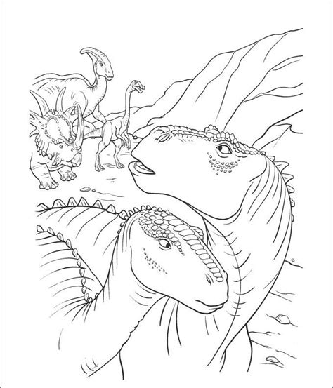 dinosaur coloring page templates  images