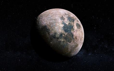 Lunar Craters Moon 4k Wallpapers