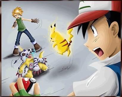 Pokemon Digimon Awesome Wallpapers Anime Av Athena