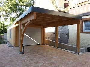 Carport Und Garage : garagen carport kombination als fertiggarage ~ Indierocktalk.com Haus und Dekorationen