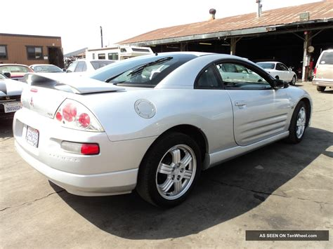 Mitsubishi 2 Door Coupe by 2001 Mitsubishi Eclipse Gt Coupe 2 Door 3 0l