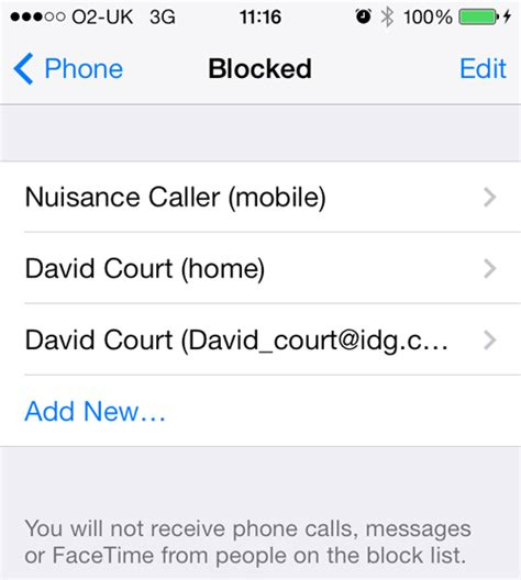 what happens when you block someone on iphone how to tell if you ve been blocked by an iphone pc advisor