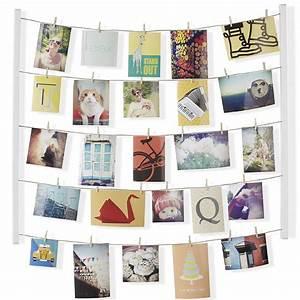 Porte Photo Original : porte photo fil et pince hangit par umbra ~ Teatrodelosmanantiales.com Idées de Décoration