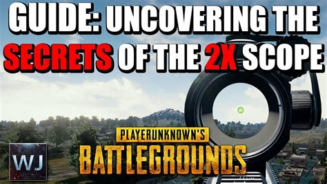 Uncovering The Secrets Of The 2x Scope In