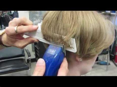 casandras short clipper haircut buzz video youtube