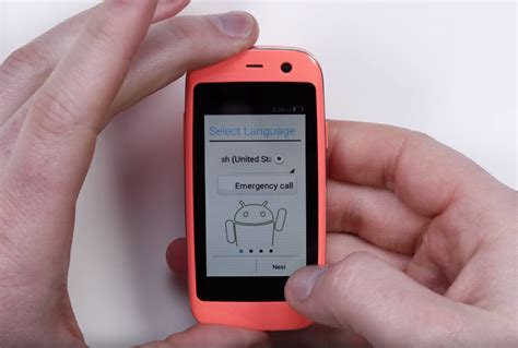 small android phone meet the world s smallest android phone bgr