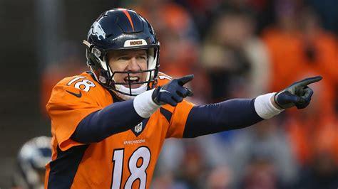 Peyton Manning Images Self Sack Chagrin Has Peyton Manning Dreading Broncos