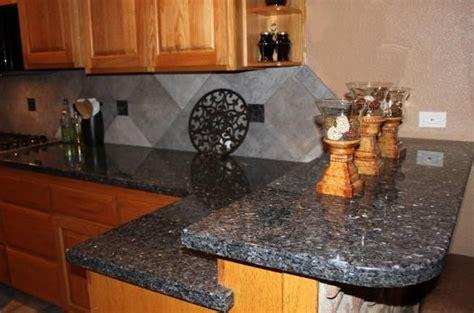 Blue Countertop Kitchen Ideas by Backsplash Ideas For Blue Pearl Granite American