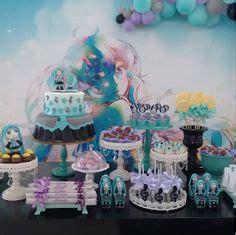 hatsune miku cake birthday anime cake birthday cake