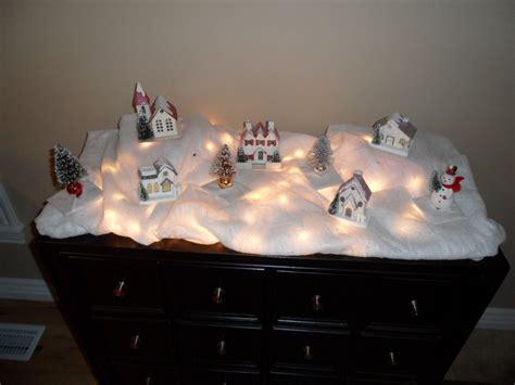 semi homemade christmas village home hinges home