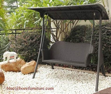 rattan swing chair outdoor furniture wicker seats