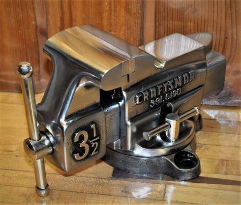 vintage craftsman vise  vice pipe jaw anvil steampunk