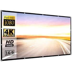 Top 10 Best Portable Projector Screens in 2020 Reviews and