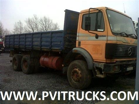 mercedes 2629 6x4 10 tyres tipper benne 13 ton axles tipper from belgium for sale at