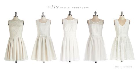 Little White Dresses 0 Or Less