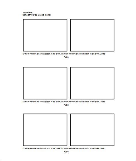 storyboard templates    psd