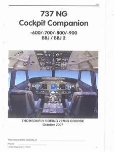 Cockpit Companion Full Copy B737 Ng