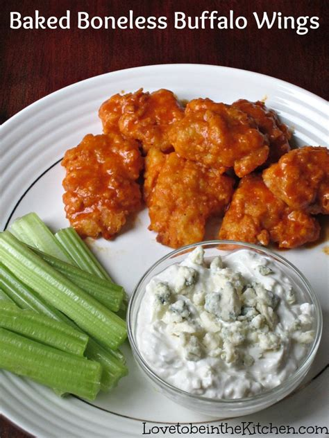 Baked Boneless Buffalo Wings  Love To Be In The Kitchen
