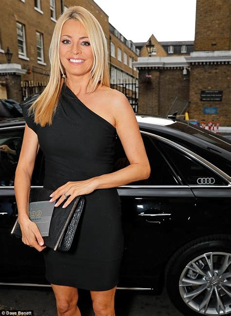 Tess Daly puts on a leggy display at Old Vic Summer Party ...