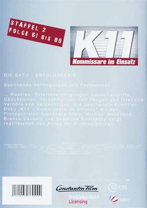 k11 kommissare im einsatz staffel 2 folge 61 80 4 dvds jpc