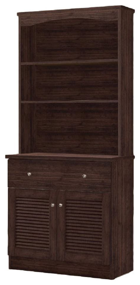 modern buffets and china cabinets agni modern and contemporary dark brown buffet and hutch