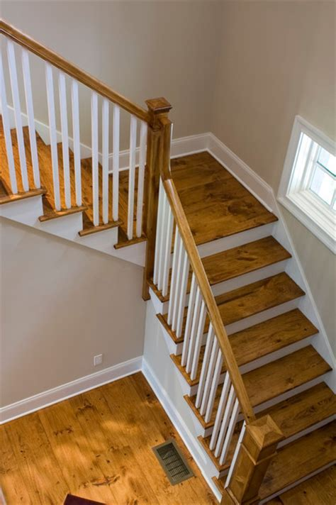 Stairs   Farmhouse   Staircase   new york   by Corbo