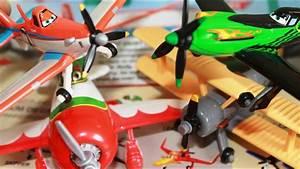Disney Planes Toys Dusty Crophopper Ripslinger Leadbottom