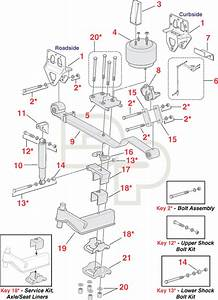 Replacement Navistar Interational Suspension Parts