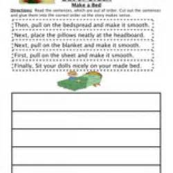 Sequence Worksheet Sequencing Activities