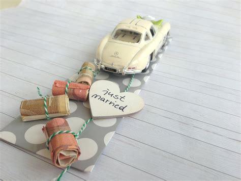 geldgeschenke zur hochzeit basteln originell verpacken