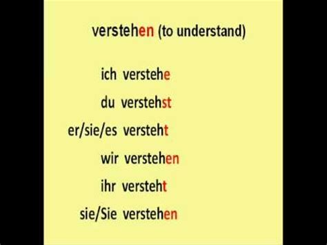 Learn German # 3  The Most Common Used Regular Verbs Youtube