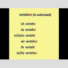 Learn German # 3  The Most Common Used Regular Verbs