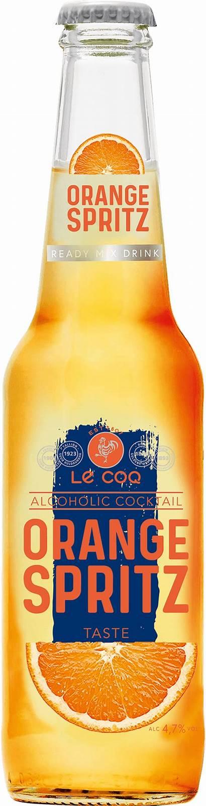 Spritz Orange Coq Cocktail Olvi Bottles Gr