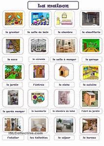 Mobilier En Anglais : maison french learning pinterest maisons vocabulaire et fle ~ Melissatoandfro.com Idées de Décoration