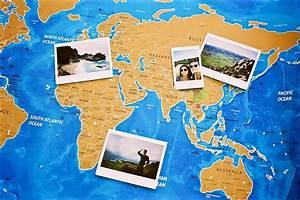 World Scratch Map – Blue Ocean Edition – Travel Bible Shop